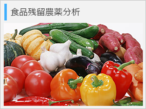 食品残留農薬分析